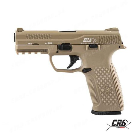 ICS Black Leopard Eye 6mm gas blowback - Tan