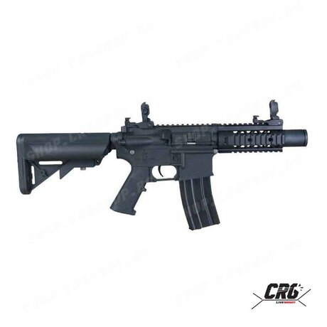 Еърсофт карабина Cybergun Colt M4 Special Forces Mini, полимерна, черна