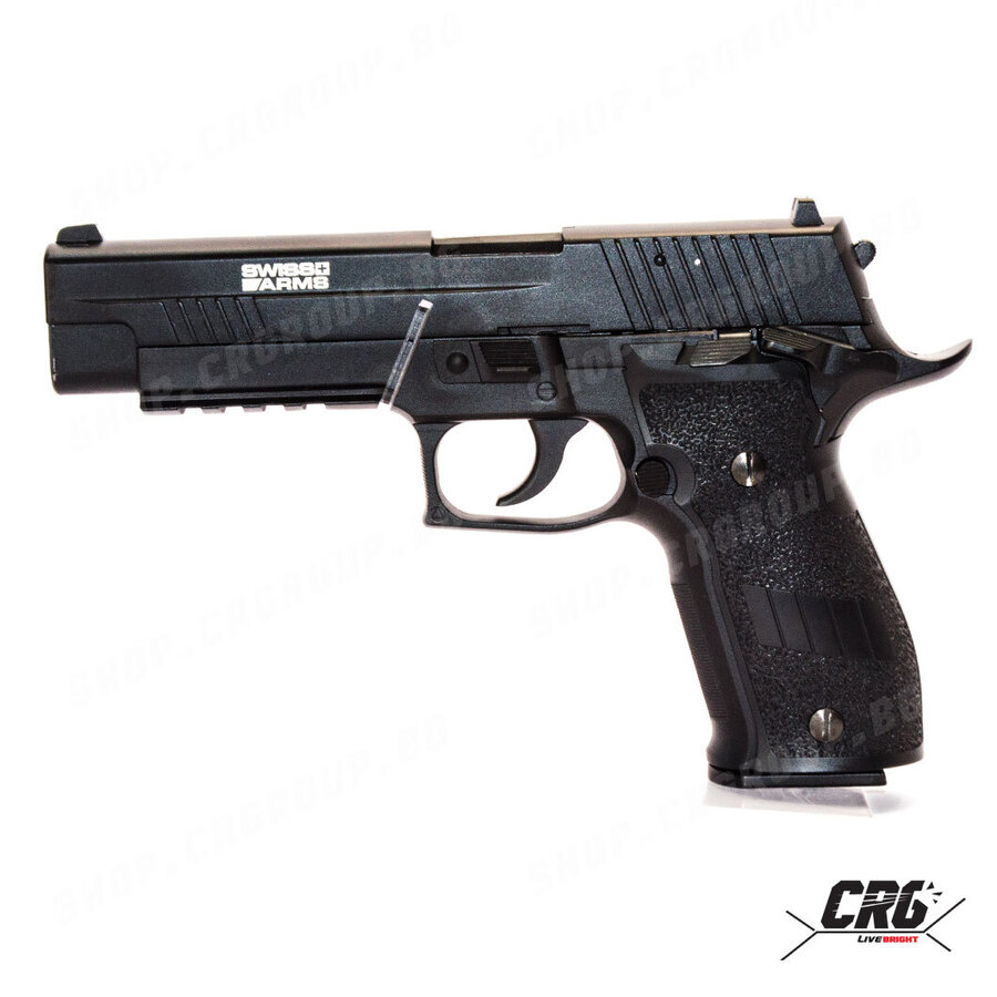 Еърсофт CO2 пистолет с откат Cybergun SIG SAUER X-FIVE 6mm GBB 1.1J