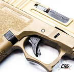 AWCustom VX9 mod 1 Precut TAN Metal slide GBB Gas 6mm 23BBs 1J